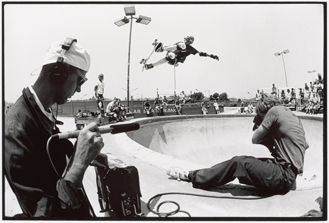 Craig Stecyk, Tony Hawk, Stacy Peralta, Del Mar Skate Ranch