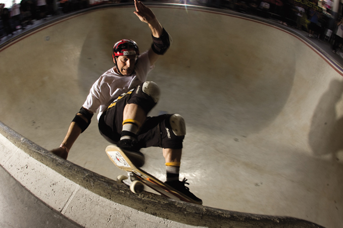 Mike Smith, Vans Combi, Orange, CA